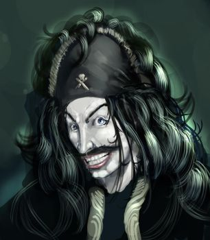 World's coolest pirate by AlmostKungFu