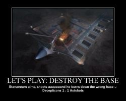 Let's play: Destroy the Base by SuiteOrchestra