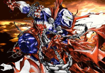 spawn photoshop colored by SurfaceNick