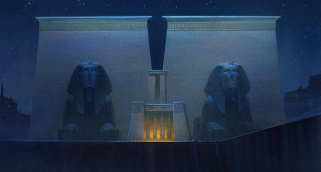Prince of Egypt Temple by NathanFowkesArt