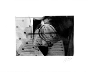Double Exposure: Drained Dreams by human1123