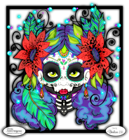 Day of the Dead by bhudicae