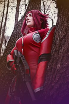 Code Geass. Kallen Kozuki. Black Queen by SarinaAmazon