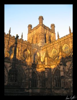Chester Cathedral by icclefairy