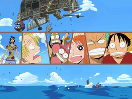One Piece - Wallpaper 1 by DJPWeb