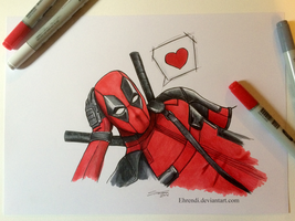 Deadpool by Ehrendi