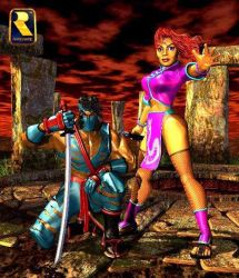 Jago And Kim Wu Official Render by Flexwheeler