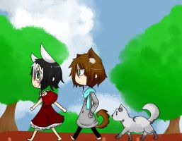 Little Red Riding Oz by Ryis