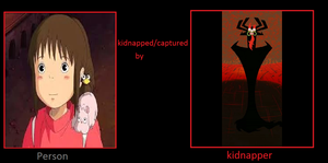 Chihiro Is Kidnapped By Aku by sydneypie