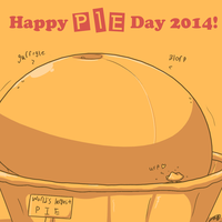 Pie Day 2014 by Axlwisp