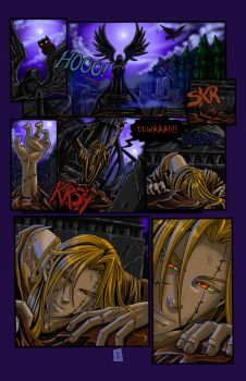 Zombie Knight page 1 by Naeles