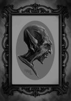 The vampire portrait by LawrenceMann
