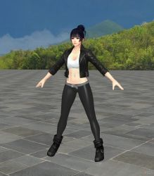 Nyotengu Jacket Pants - Toe-Bones-Feet by HillMaker