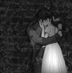 Pride and prejudice Kiss BaW by Delight046