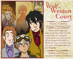 The Wolf at Weston Court Profile by Le-RenardRoux