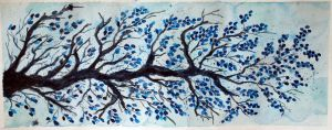 Blue Branch by MarcHorn