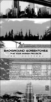Background Screentone Stock by chare-stock