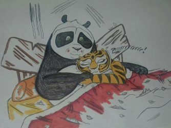 Po and tigress bed together by nymeriadire