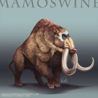 Pokemon Reimagined: Mamoswine