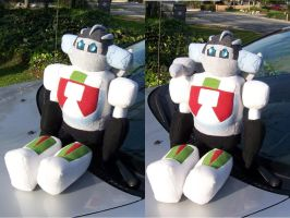 Wheeljack Plush by Lylix