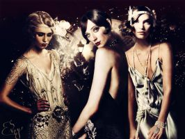The Great Gatsby by Featherlyblow