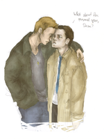 1th Destiel by bakkfity