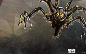 Yellowjacket Wallpaper by Admin-Cap