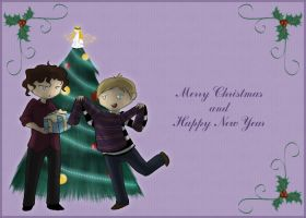 Xmas card - Gifts by Dr-Nell