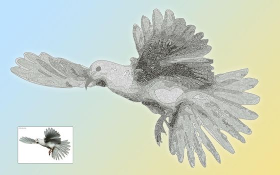 dove by Yardclippings