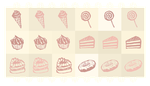 Kawaii Custom Brushes: Sweets [FREE] by Nukababe