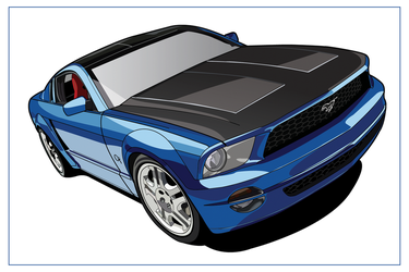 Ford Mustang GT 2005 by taw
