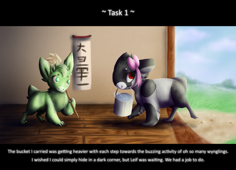 Dojo Task 1: Cleaning by SilverWolfEye