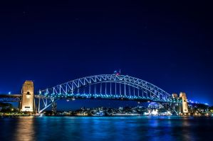Sydney Harbour Bridge by 62dingos