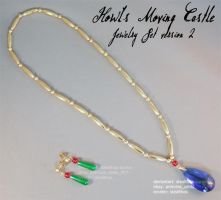 Howl's Moving Castle Jewelry Set by Stealthos-Aurion