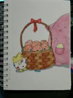 Pokemon Easter Special by Quasartist2