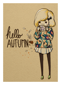 Hello AUTUMN by AFunny