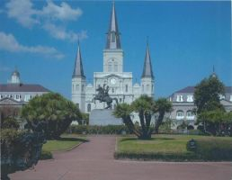 New Orleans, LA, USA: St Louis Cathedral by RoseMyst2001
