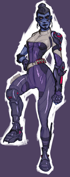 [WIP] Overwatch's Widowmaker by AlexZebol