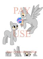 Mlp Flowers Base by Kiwi-Berry-Bliss
