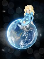Maria the earth girl 1 (first try) by Shadow-sah