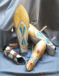 Warhammer Elven Leg And Arm Armor by Shattan