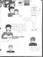 Beatles Doodle Dump 2 by girlwitharubbersoul