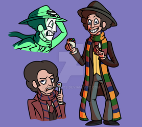 4th Doctor (2018 Remake) by TripodArts