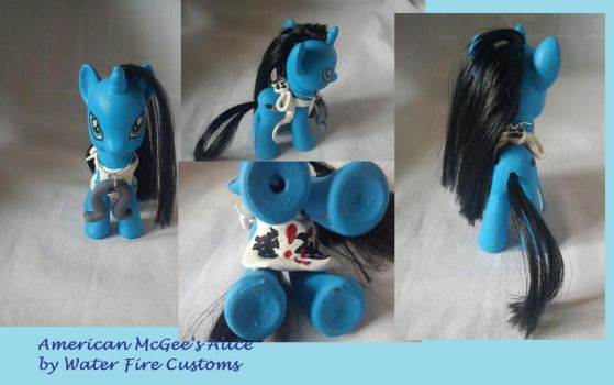 My Little Pony Custom American McGee's Alice by WaterFireCustoms