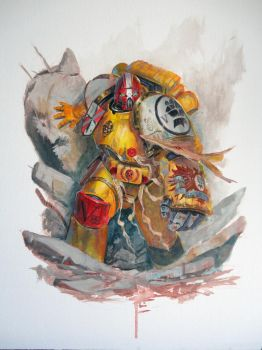 Imperial Fist-Acrylics by DiegoGisbertLlorens