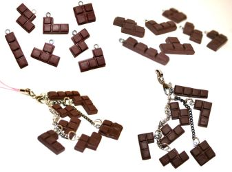 Chocolate Tetris by PetiteWishes