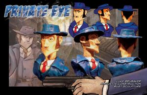 He's the Private Eye by The-Great-Shiniku