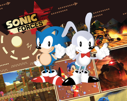 Sonic Forces character creation by Linkabel32