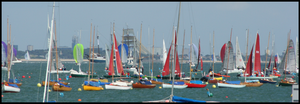 Cowes Week Sailing by Migratory