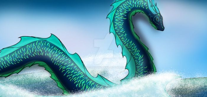 Sea Dragon Thing by FalconFate
